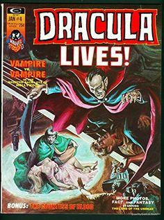 Dracula Lives Magazine Vol. 1#4 NM- 9.2 @ niftywarehouse.com #NiftyWarehouse #Dracula #Vampires #ClassicHorrorMovies #Horror #Movies #Halloween #Vampire
