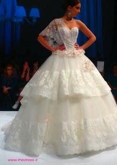 Casablanca Wedding Gown 2014 | abito da sposa regale Amelia Casablanca Spring 2014