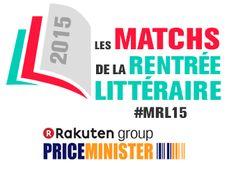Logo Matchs de la Rentrée Littéraire de PriceMinister-Rakuten #MRL15