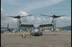 Marine Medium Helicopter Squadron 265 performs routine maintenance and functional checks of MV-22 Osprey tiltrotor aircraft aboard Marine Corps Video: Air Station Iwakuni, Japan July 25, 2012. This marks the first MV-22 Osprey aircraft deployment to Japan and a milestone in the Marine Corps' process of replacing CH-46E helicopters with the MV-22 Osprey, a highly-capable, tiltrotor aircraft which combines the vertical capability of a helicopter with the speed and range of a fixed-wing…