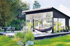 simple shed roof design---husohem