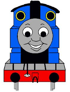 Thomas the Tank Engine Paper Craft with printable ( link within)