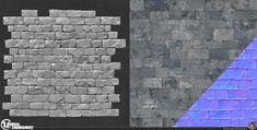 ArtStation - Unreal Tournament DM-Chill Stone Wall 01, Josh Marlow