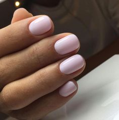 Want some ideas for wedding nail polish designs? This article is a collection of our favorite nail polish designs for your special day. Hair And Nails, My Nails, Light Pink Nails, Pale Pink Nails, Pink Shellac Nails, Pink Light, Black Nails, Manicure Y Pedicure, Pedicure Ideas