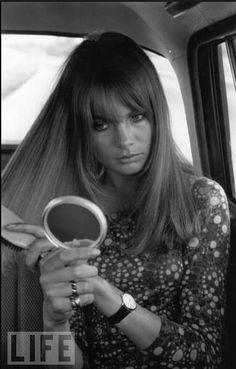 Gorgeous Jean Shrimpton (aka The Shrimp) in the 60s