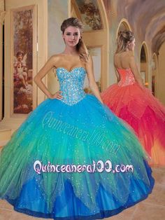Special ball gown sweetheart-neck floor-length quinceanera dresses