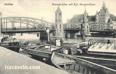 stettin germany | ... postcard of the Hansabrucke, Stettin, Germany, now Szczecin, Poland