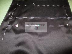 Patrones de Costura: CÓMO HACER UN VESTIDO PARA VESTIR DE MANTILLA EN SEMANA SANTA Backpacks, Bags, Dress, Saddle Pads, Sewing Patterns, Suit, How To Make, Zippers, Handbags
