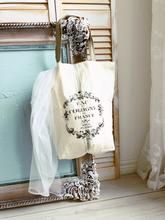 French Market Bag Set of 3 Decor Market, Market Bag, Vintage Designs, Bedding Sets, Farmhouse Style, Shabby Chic, French, Pillows, Bedroom