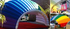 Inflatable Structures & Inflatable Tents