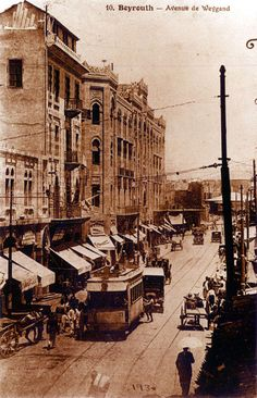 Old Lebanon (Rare pictures) - Page 46 - SkyscraperCity  Rue weygand- Beirut- 1930