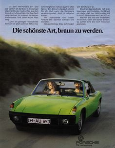 Porsche 914 (1974) Cabrio = VW-Porsche 914