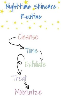 Tips for oily skin: nighttime routine