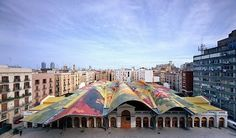 Gallery of 23 Amazing Places in Barcelona's Best Architecture City Guide - 1 Image 1 of 26 from gallery of Barcelona City Guide: 23 Places to See in Gaudi's Birthplace. Photograph by Miralles Tagliabue EMBT Barcelona City, Barcelona Catalonia, Barcelona Guide, Pattern Architecture, New Architecture, Antoni Gaudi, Santiago Calatrava, Beautiful Buildings, Modern Architecture