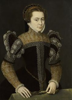 Margaret of Parma by Sir Anthonis Mor (Netherlandish, also known as Anthonis Mor van Dashorst and Antonio Moro, ca. 1517-1577), ca. 1555
