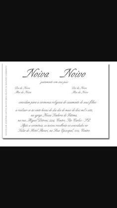 Tipos de convites - convite 4