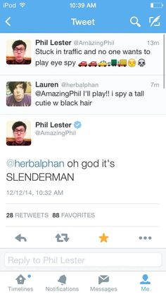 Image result for amazingphil seems to only answer stupid tweets