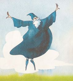 The Wizard, illustrated by Sal Murdocca.
