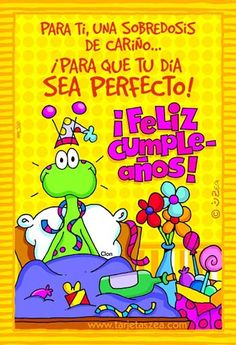 Resultado de imagen para frases de cumpleaños divertidas Spanish Birthday Wishes, Birthday Wishes For Friend, Happy Birthday Messages, Happy Birthday Quotes, Bday Cards, E Cards, Birthday Greeting Cards, Birthday Greetings, Happy Wishes