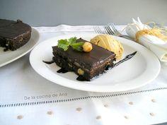 Brownies de Café y Crema de Castañas