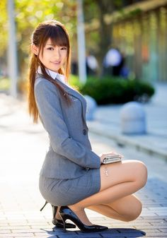 Suites Naked office asian girls hot in