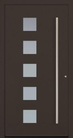 Modern Entry Doors - Modern Entry Door Modern Entrance Door, Modern Exterior Doors, Entry Doors, Iron Windows, Iron Doors, Home Stairs Design, Door Design, Modern Windows And Doors, Aluminium Front Door