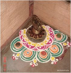 Top 10 Corner Rangoli Designs That You Should Try