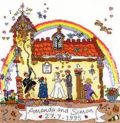 Cut Thru' Wedding da Bothy Threads - Bothy Threads - Ricamo - Casa Cenina