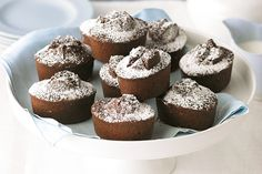 If you& short on time but big on flavour, these little jaffa friands are the perfect solution! Almond Recipes, Baking Recipes, Cake Recipes, Dessert Recipes, Dessert Ideas, Cake Ideas, Tea Party Desserts, Mini Desserts, French Desserts