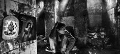Picture of A young drug addict in India
