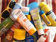 2013 Review: Top 30 Best SPF Sunscreens For Face, Body, Lips, Hands - Neutrogena, Rodan + Fields, Aveeno, Bull Frog, Ocean Potion