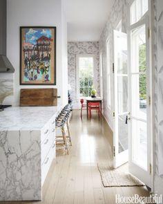 White Kitchen Area #homedecor