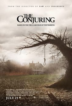The Conjuring, based on Ed and Lorraine Warren. Want to see!