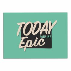 KESS InHouse Juan Paolo 'Epic Day' Vintage Teal Dog Place Mat, 13' x 18' -- Don't get left behind, see this great dog product : Dog food container