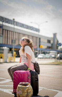 Zurück am Flughafen Schönefeld