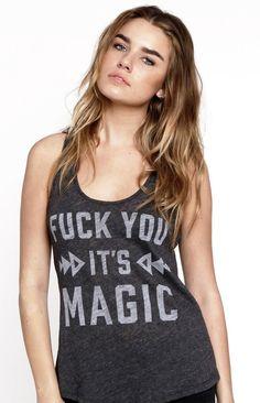 fk u its MAGIC