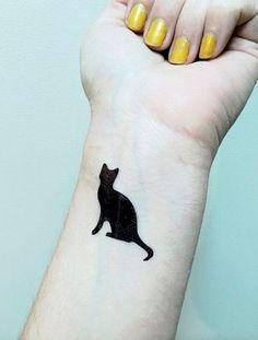 tattoo minimalista gato - Pesquisa Google