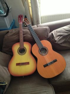 My first #acoustic #guitars that I learnt to play on.