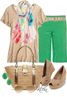 """Bermuda Shorts"" by stacy-klein on Polyvore"