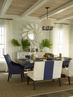 Color Inspiration: Navy! fun boat house style