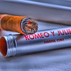 Romeo y Julieta Tubo, Cuba