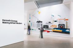 Exhibition Design Museum, Kenneth Grange: Making Britain Modern 2011 — Graphic Thought Facility