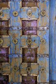 Antique door in New Orleans
