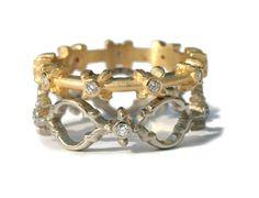 Megan Thorne Catherine Stacked Bands. #meganthorne #stjohnsjewelers
