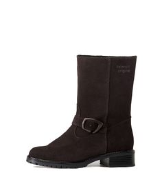brown waterproof suede Palmroth Original boot Italian Leather, Biker, The Originals, Brown, Collection, Shoes, Fashion, Moda, Zapatos