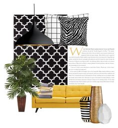 """Untitled #54"" by dasha38522513 ❤ liked on Polyvore featuring interior, interiors, interior design, home, home decor, interior decorating, Threshold, Unison, Artek and Dot & Bo"