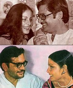 Gulzar and Raakhee