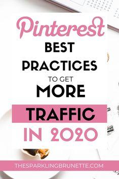 The Best Pinterest Practices for Business in 2020 - The Sparkling Brunette Best Hacks, Tips & Tricks, Pinterest For Business, Business Website, Blogging For Beginners, Pinterest Marketing, Blog Tips, How To Start A Blog, Solar Energy