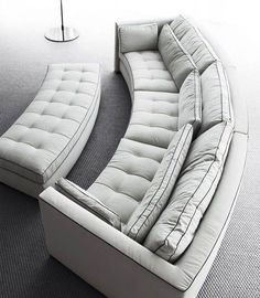 56 Beautiful DIY Sofa Design Ideas - Home-dsgn Diy Sofa, Sofa Furniture, Sofa Set, Luxury Furniture, Furniture Design, Couches, Sectional Sofas, Furniture Stores, Luxury Living Rooms