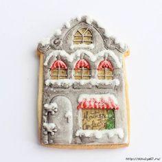 Расписные пряничные домики